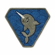 New Narwhal Morale Patch Velcro PDW TAD Gear Motus Prometheus Design Werx