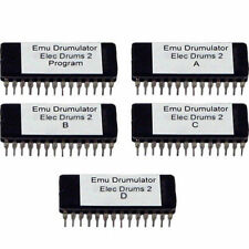 Emu E-Mu Drumulator Electronic Drums 2 EPROM sound expansion bank