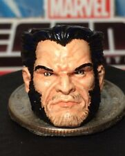 MARVEL LEGENDS TOYBIZ PAINTED / FITTED  JIM-LEE STYLE LOGAN 1:12 HEAD CAST