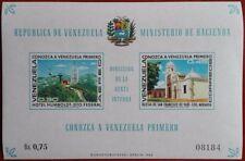 Venezuela Hoja bloque turismo 1968 Nueva