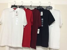 Boys Youth Izod Uniform Assorted Color Polo Shirts Size 18/20 New