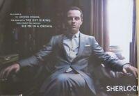 Sherlock : Sherlock: Jim Moriarty- Poster-Laminated available-91cm x 61cm-Bra...