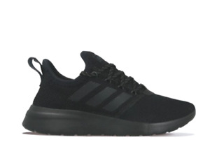 adidas Lite Racer Reborn Black Lightweight Running Shoes Trainers Gym Sneakers