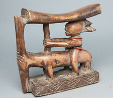 Luba Neck Rest, Congo, Zambia, African Tribal Arts