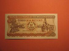 MOZAMBIQUE Banknote 50 Meticais 1986 UNC PAPER MONEY Pick 129b AK 1339388
