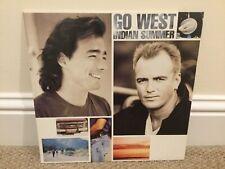 "GO WEST - INDIAN SUMMER, RARE 12"" Vinyl LP"