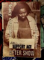 TRACY CHAPMAN - MATTERS OF THE HEART  - RADIO CITY - JUNE 9, 1992 - AFTER SHOW