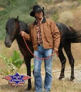 Stars und Stripes Canvasjacke Reitjacke Range Rider Größe XL Abverkauf