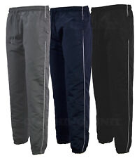 Mens Tracksuit Bottoms Stripe Jogging Trousers Sport Gym S-2XL