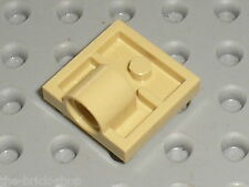 Rare LEGO Tan Plate with Hole ref 2444 / Set 7470 &  7259 ARC-170 Starfighter