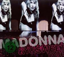 "Madonna ""Sticky & Sweet Tour"" CD + DVD NUOVO"