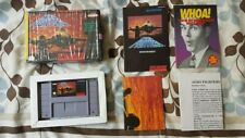 Aero Fighters (Super Nintendo Entertainment System, 1994) Complete with poster