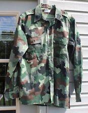Camo Bosnian Serb M93 summer shirt MINT LG! old stock new shirt