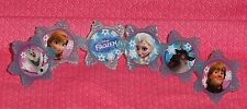 Frozen Cupcake Toppers,Rings,Plastic,DecoPac,Blue,Party Favor,Decorating,Ol