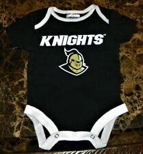"""NEW"" Central Florida Knights UCF ~ Logo CREEPER BODYSUIT ~ NCAA Infant Sz 3M 6M"