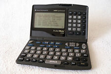 TEXAS INSTRUMENTS Pocket Mate 200 Calculatrice Organiseur 64 KO made in 1997