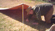 EAST GERMAN/DDR/NVA Half tent/poncho in strichtarn camoflage (package)