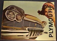 1957 Plymouth Large Catalog Brochure Belvedere Savoy Plaza Suburban Wagon Orig