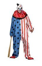 Fun World Evil Clown Mask Adult Mens Halloween Costume Standard 132014