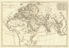 Orbis Antiquus. The Ancient World. Europe Africa Asia. BONNE 1789 old map
