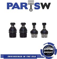4 NEW Front Lower and Upper Ball Joint Set for Ford F-250 F-350 Excursion 4x4