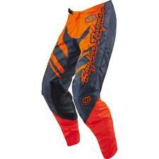 Troy Lee Designs GP Flexion MX Motocross Pants Orange Grey Size 32