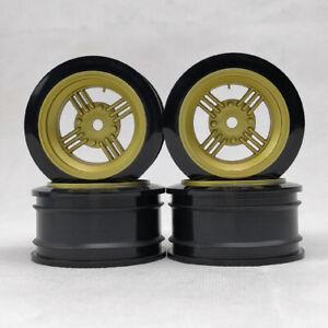 4pcs 6/9mm offset 1/10 RC Car On Road Drift Touring Plastic Wheels Model Hobby