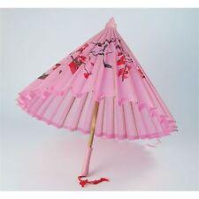 Éventails et ombrelles rose pour déguisement et costume