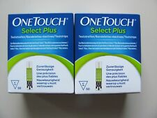 100 Teststreifen One Touch Select Plus OVP Lifescan OneTouch