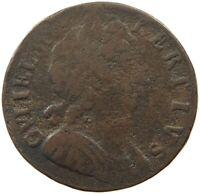 GREAT BRITAIN HALF PENNY 1697    #od 053