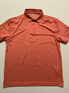 Under Armour Golf Polo Shirt Men's Large Playoff Pink Heather