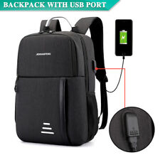 Water Repellent Design Anti-Theft Backpack Travel School Bags With USB Port