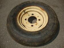 1 x Felge 3.00x10 + Reifen Dunlop 4,5x10AM für Schwader Traktor Kreiselheuer