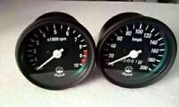 New Speedometer & Tachometer Set -Rpm Meter Cluster Yamaha Rd250 Rd 350 Rd400