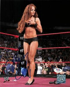 Christy Hemme signed 8x10 photo PSA/DNA COA WWE Autographed Wrestling Sexy