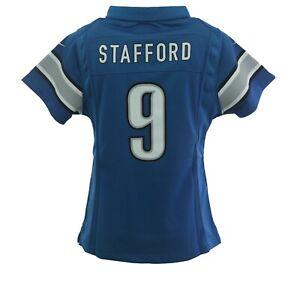 Girls Detroit Lions Matthew Stafford NFL Nike Children's Kids Youth Size Jersey