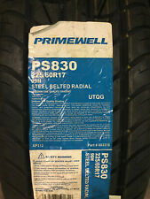 1 New 225 60 17 Primewell PS830 Tire