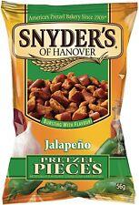 Snyder's Jalapeno Pretzel Peças 125g-Pacote Com 4