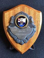 Vintage M.C.B. Methody College Belfast Centenary Shield Plaque & stand 1868-1968