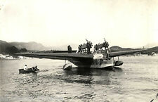 Postcard 1014 - Aircraft/Aviation Real Photo Flying Boat Liore/Olivier 1940's