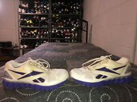 Reebok Solarvibe Womens Athletic Running Training Shoes Size 8.5 White Purple