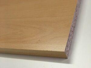 15mm Ellmau Beech Melamine Faced Chipboard wood shelving Board 1200mm Length