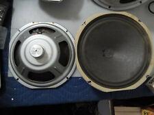"""Magnavox 933C597-1 10"""" 8 Ohm ALNICO Smooth Cone Woofer Pair"""