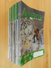 126 x Austria Nachrichten Österreichischer Alpenverein ÖAV Hefte 1977-2002