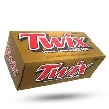 Twix Cookie Candy Bars 1.79 oz Full Size Chocolate Caramel Bar - 36 ct