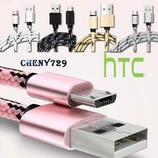 Micro USB Fast Charging Data Sync Charger Cable For Various  HTC Desire Phones