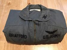 Original Vietnam War US Army K2B Flight Suit Direct Embroidered Major Rare