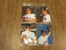 1994 Mothers Cookies Tim Salmon 4-card set -  bulk sale of 5 complete sets