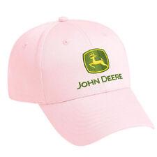 JOHN DEERE *LADIES* PINK Embroidered CAP HAT *BRAND NEW!*