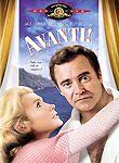 Avanti (DVD) with Jack Lemmon (Read the Description)